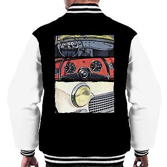 Austin Healey Montage British Motor Heritage Men's Varsity Jacket