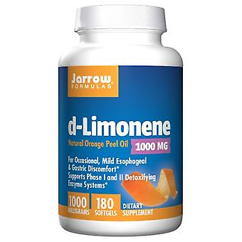 Jarrow Formulas D-Limonene, 1000 mg, 180 Softgels