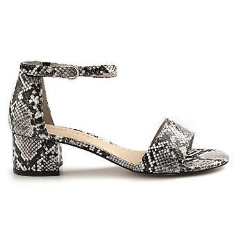 Damen Tamaris grau Python Druck Sandale