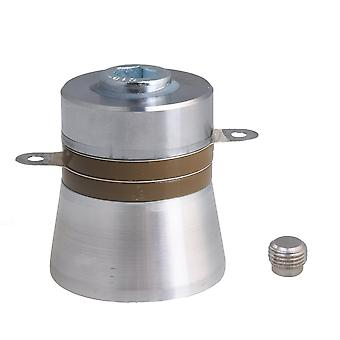 Ultrasonic Piezoelectric Transducer Cleaner 60W 40KHz 45mm Diameter 55mm Height