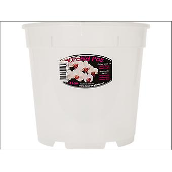 Growth Technology Orchid Pot Clear 21cm POCL21M