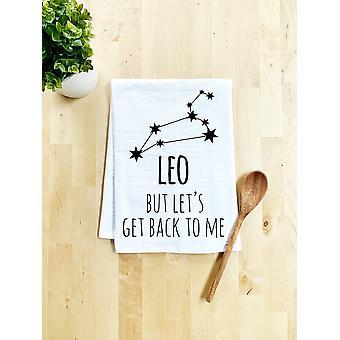 Leo Zodiac (mutta Let's Get Back To Me) Tiskipyyhe
