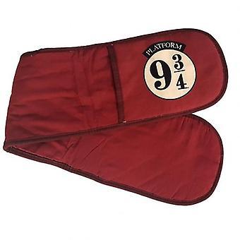 Harry Potter Oven Gloves 9 & 3 Quarters