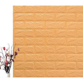 Brick Style Self-adhesive Wall Sticker