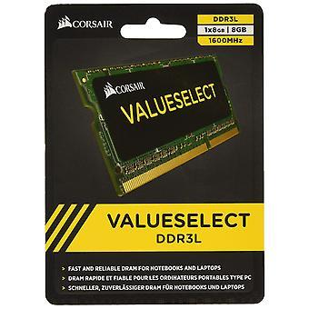 Corsair cmso8gx3m1c1600c11 värde välj 8gb (1x8gb) ddr3 1600mhz cl11 mainstream sodimm notebook mem