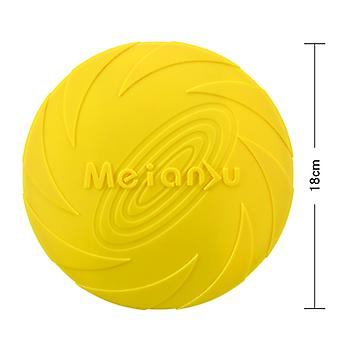 Dog Flying Disc Toy 7.1inch,pet Training Rubber Frisbee,floating Water Dog Toy For Medium