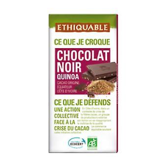 Organic dark chocolate quinoa 100 g