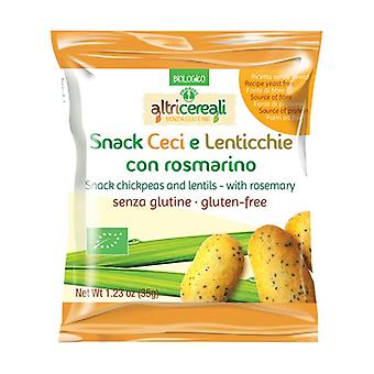 Chickpea and lentil snack - with rosemary None