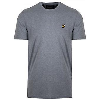 Lyle & Scott Classic Harmaa Melange T-paita