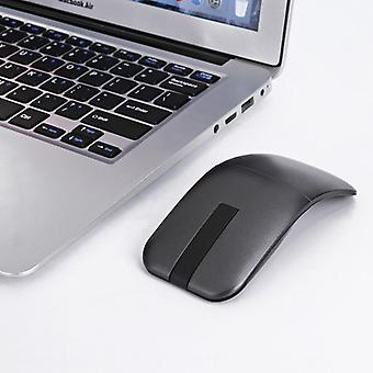 Arc Touch Slim Foldable 2.4GHz Wireless Touch Mouse(Black)