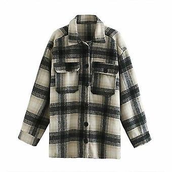 Košeľová bunda Ženy&s Dlhý kabát