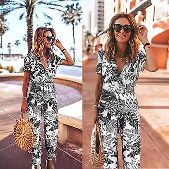 Women Beach Casual Rompers Womens Jumpsuit