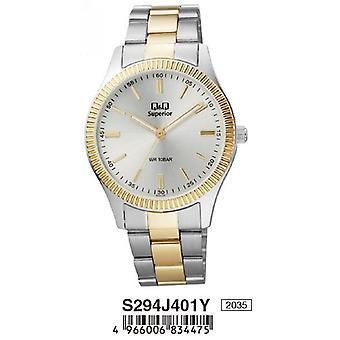 Q&q watch s294j401y