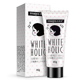 Images Quick White Cream Long Lasting Moisturizer Oil Control Cover Pores Acne