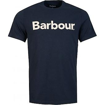 Barbour Logo Crew Neck T-Shirt