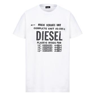 Diesel T-Diego-B6 weißes T-Shirt