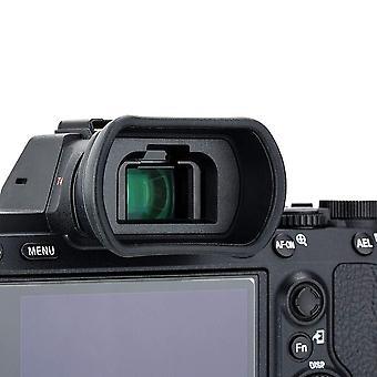 Kiwifotos ke-ep18l camera eyecup for sony a7, a7 ii, a7 iii, a7r, a7r ii, a7r iii, a7s, a7s ii, a9,