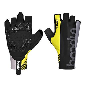 Outdoor half-finger cycling gloves B01