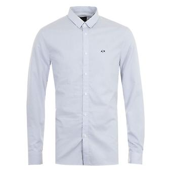 Armani Exchange Micro Dot Shirt - White