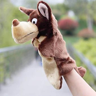 Animal Hand Puppet Plush Toy, Pretend Telling Story Prop 25cm #40