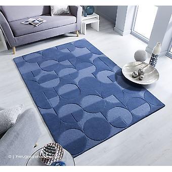 Moderno Gigi blauw tapijt