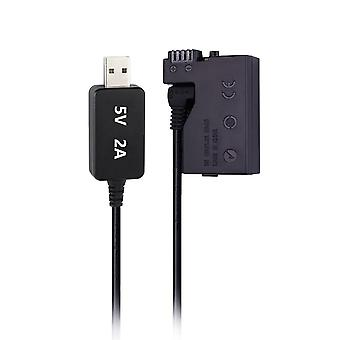Dc Power Ac-adapter til Canon-kamera (usb)