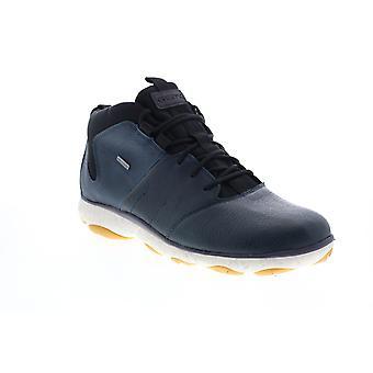 Geox U Nebel 4 X 4 B Abx Herren blau Leder Stiefeletten