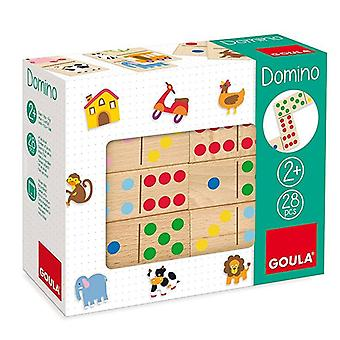 Domino Goula TopyColor Diset (28 pcs)