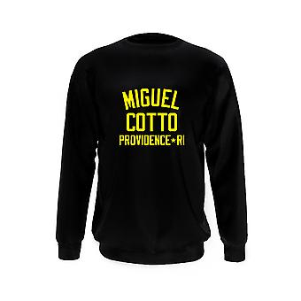 Miguel Cotto Boxing Legend Sweatshirt