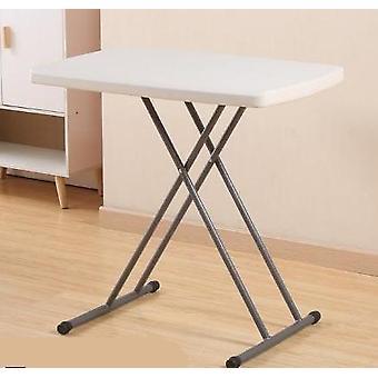 Yksinkertainen muovinen taittopöytä