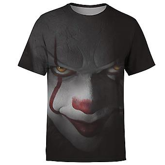 Horror-Film Clown 3d Druck Joker Männer T-shirt