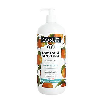 Marseille soap with tangerine aroma 1 L (Tangerine)