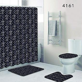 3PC Toilet Mat Fish scale pattern