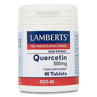 Lamberts Quercetina 500 mg alta potencia y fuente vegetal natural 60 comprimidos