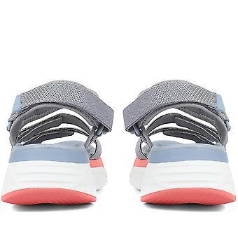 Skechers Womens Max Cushioning Walking Sandals