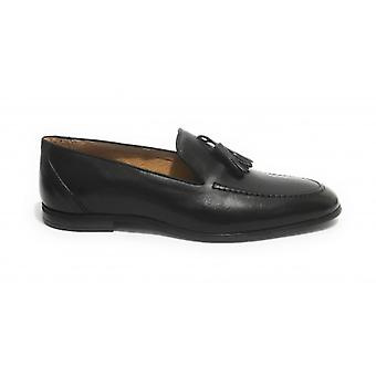 Men's Loath Lenny In Black Smooth Leather and Pendagli Us20el12