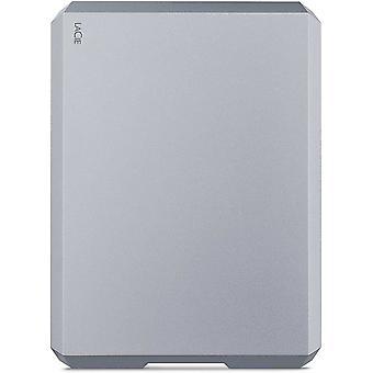 HanFei MOBILE DRIVE, tragbare externe Festplatte 5 TB, 2.5 Zoll, USB-C, Mac & PC, space grey,