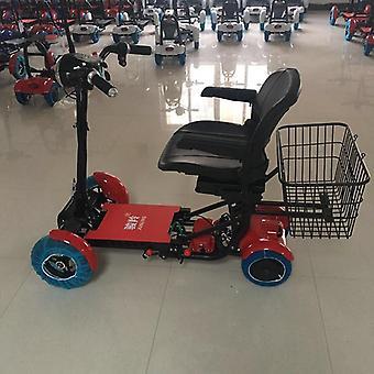 Sammenleggbar elektrisk sykkel folding scooter