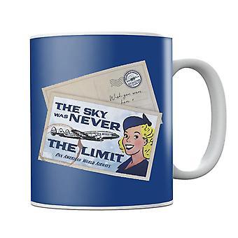 Pan Am The Sky Was Never The Limit Mug