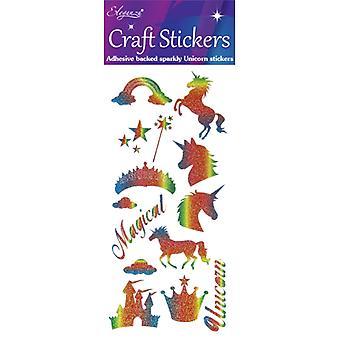 Oaktree UK Ltd - Unicorn Rainbow Glitter
