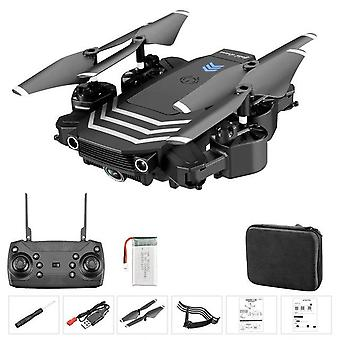 Ls11 drone pliable 2.4g wifi fpv hd caméra gimbal photographie aérienne 120° caméra grand angle usb charge cadeaux