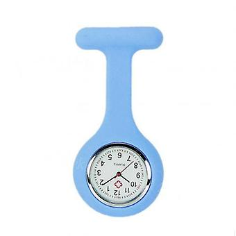 New Clip-onanalog Digital Brooch Fob Medical Nurse Pocket Watch