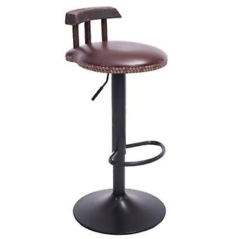 Bar Stool Cafe Chair With Backrest Restaurant Bar Cafe Home Kitchen Decoration