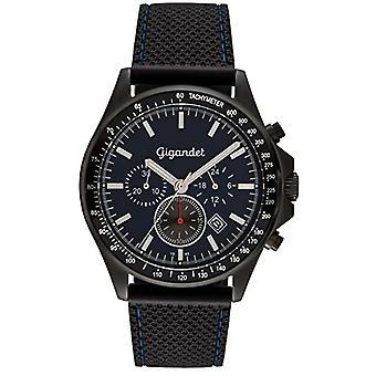 Gigandet G3-010 - Men's watch, plastic strap, color: black