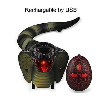 Infrared Remote Control Cobra Snake Toy RC Mischief Safari Garden|toy pranksimulation snake