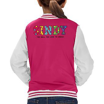 Sindy The Doll You Love To Dress Kid's Varsity Jacket