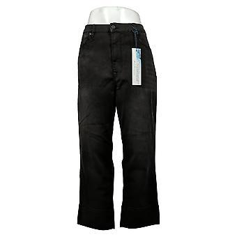 DG2 by Diane Gilman Women's Jeans Virtual Stretch Boot-Cut Black 740965
