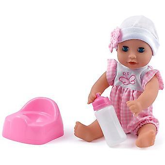 Dolls World Baby Dribbles Doll