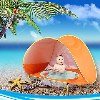 Baby Beach Tent Children Waterproof Pop Up sun Awning Tent UV-protecting Sunshelter with Pool Kid
