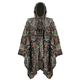 Hunting Secretive Woodland Ghillie Suit Aerial Shooting Sniper Green Clothes Adults Camouflage
